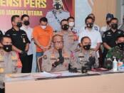 Polisi menangkap pengemudi mobil pajero yang melakukan penganiayaan terhadap sopir truk - foto: Istimewa