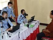 Pelayanan Eazy Passport Kanim Tangerang di Polres Kota Tangerang - foto: Istimewa