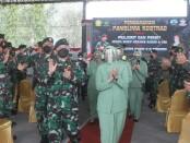 Keterangan gambar : Kunjungan Pangkostrad Letnan Jenderal TNI Dudung Abdurachman beserta ibu di Yonif Mekanis 413/Bremoro Kostrad. /Foto: istimewa
