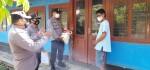 Polres Purworejo Beri Bantuan Logistik Pasien Isoman