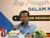 Kepala Kanwil Kemenkumham Provinsi Bali, Jamaruli Manihuruk - foto: Istimewa