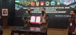 Serah Terima Pembangunan TMMD Reg III TA 2021 Dari Dandim 0735 Ska Kepada Wawali Kota Surakarta