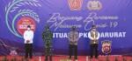 Polri Gelontor 458 Ton Beras dan 15 Ribu Paket Sembako untuk Warga Banten