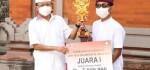 Hadiah untuk Pemenang Lomba Desain Kemasan Arak Bali