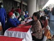 Vaksinasi untuk masyarakat di Bali - foto: Koranjuri.com