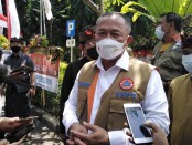 Kepala BNPB Letjen TNI Ganip Warsito usai melepas program mobil masker dari halaman kantor Gubernur Bali, Renon, Kamis, 19 Agustus 2021 - foto: Koranjuri.com