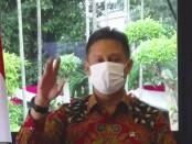 Menteri Kesehatan Budi Gunadi Sadikin saat menggelar konferensi pers di Jakarta, Senin, 2 Agustus 2021 - foto: Koranjuri.com