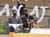 Ritual Jamasan Pusaka di Museum Tosan Aji Purworejo, Jum'at (27/08/2021) - foto: Sujono/Koranjuri.com