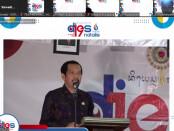 Rektor ITB STIKOM Bali Dadang Hermawan saat memberikan sambutann pada Dies Natalis ITB STIKOM Bali ke-19, Selasa, 10 Agustus 2021 - foto: Koranjuri.com
