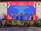 Keterangan gambar : Ajang penerima penghargaan Top Award BUMD 2021 #Star4  yang diterima oleh BPR BKK Karangmalang Perseroda/ foto : istimewa