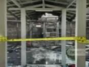 Puing-puing sisa kebakaran di Lapas Kelas I Tangerang yang menewaskan 41 narapidana - foto: Istimewa