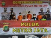 Para pelaku pembunuhan di Teluk Naga ditangkap Resmob Polda Metro Jaya - foto: foto: Istimewa