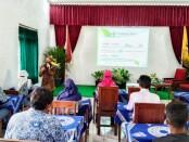 Kepala Puskesmas Cangkrep, dr Nawang Sukestiningsih, saat menyampaikan materi pada Bimbingan Mental di SLBN Purworejo, Jum'at (01/10/2021) - foto: Sujono/Koranjuri.com