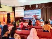 Pelatihan Risk Disaster Management dalam National Leader Forum (NLF) dari KAPPIJA 2021 (Keluarga Alumni Program Persahabatan Indonesia Jepang), di aula SMPN 9 Purworejo, Sabtu (16/10/2021) - foto: Sujono/Koranjuri.com