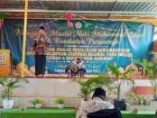 Peringatan Maulid Nabi Muhammad SAW di SMK Kesehatan Purworejo, Rabu (20/10/2021), dengan menghadirkan KH Rosyid Anwar, S.Pd. I sebagai penceramah - foto: Sujono/Koranjuri.com