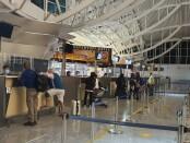 Konter pelayanan di bandara Internasional I Gusti Ngurah Rai Bali - foto: Istimewa