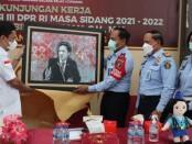 Kunjungan Kerja Anggota Komisi III DPR RI, Habiburokhman bersama staf ahli komisi di Rumah Tahanan Negara (RUTAN) Cipinang, Jakarta Timur, Jumat, (22/10/2021) - foto: Istimewa