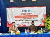 Workshop Penguatan Jiwa Nasionalisme di SMK TI Kartika Cendekia Purworejo, Jum'at (01/10/2021), dengan menghadirkan Soekoso DM dari DHC 45 Purworejo sebagai narasumber - foto: Sujono/Koranjuri.com