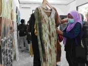 Hasil warna alami yang diproduksi untuk fesyen - foto: Koranjuri.com